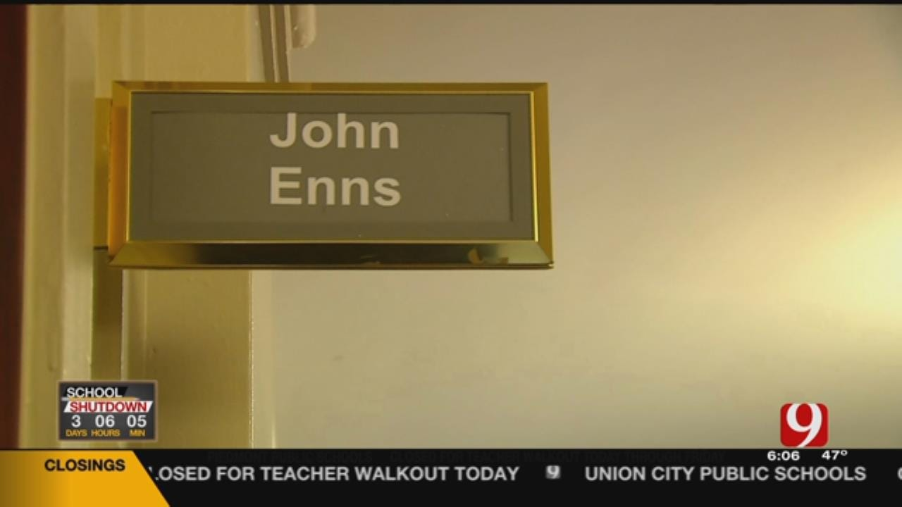 Enid Lawmaker Talks About His Claims Made To Teachers