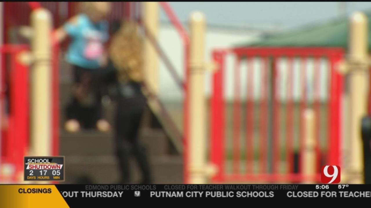 4-Year-Old Girl Sexually Assaulted At SW OKC Park, Suspect Sought