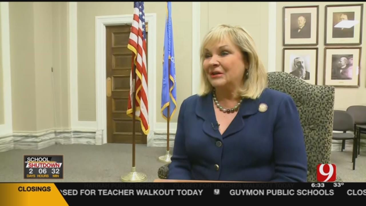 Gov. Fallin Faces Backlash After Comments To CBS News