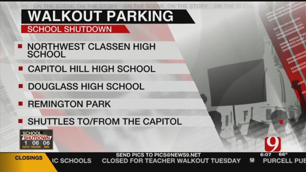 Shuttles To Take Teachers To The Capitol For Walkout's 2nd Day