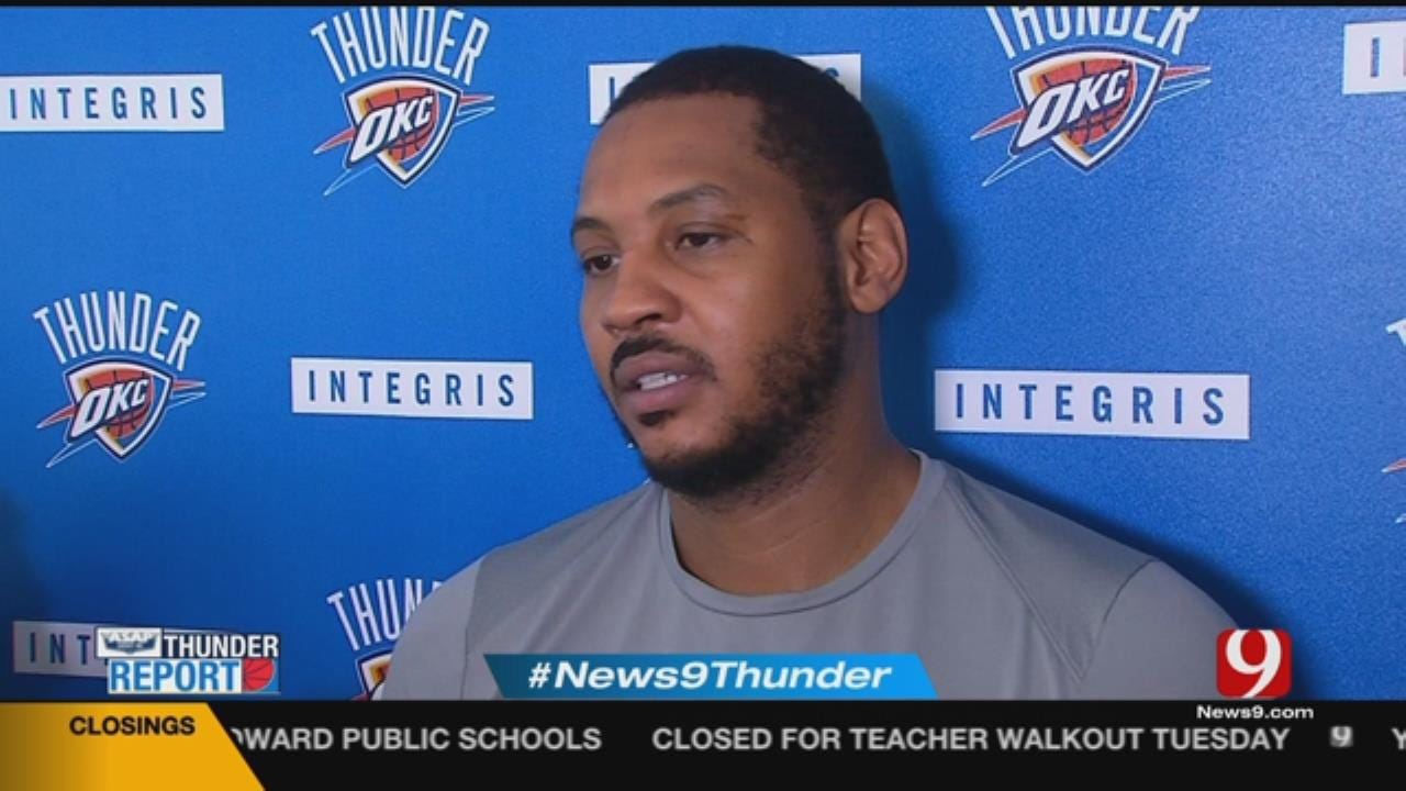 Carmelo Anthony On Warriors Matchup