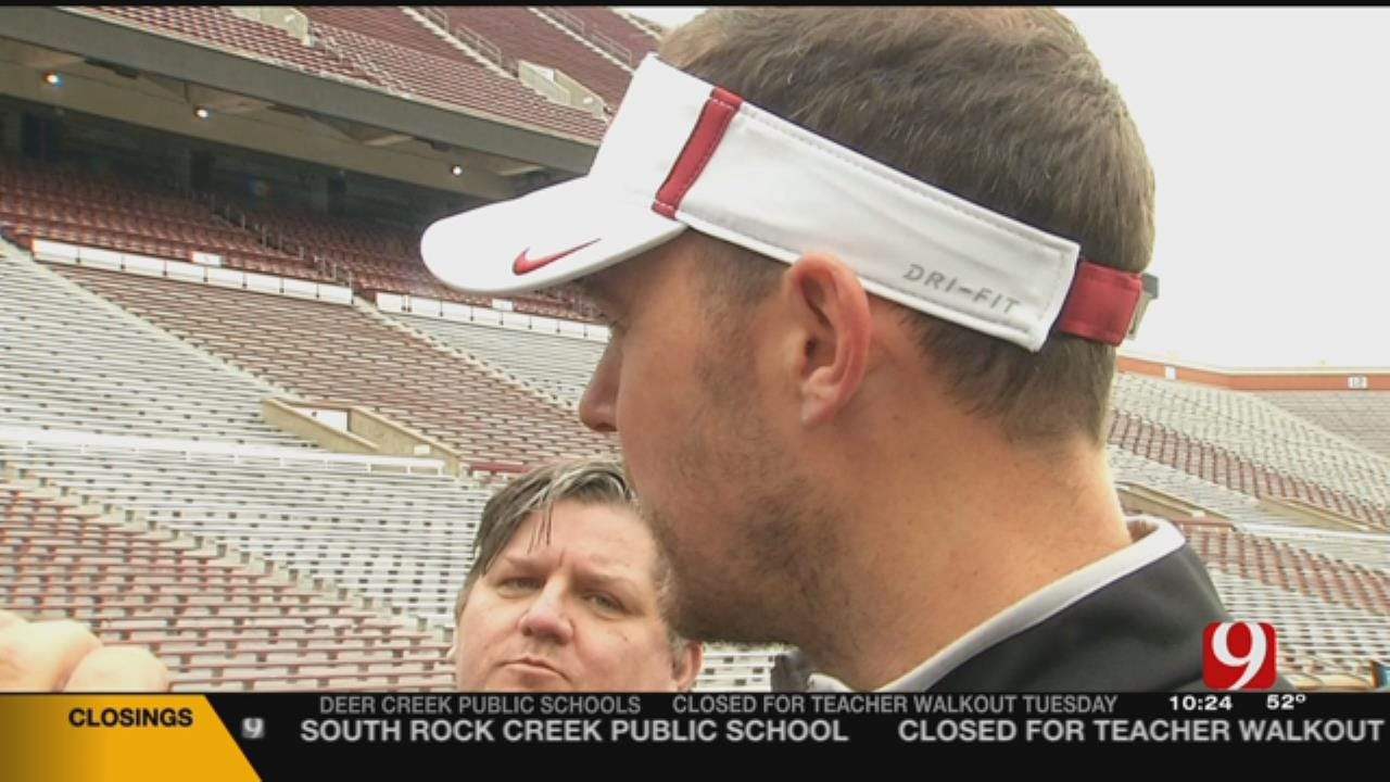 OU Head Coach Lincoln Riley Weighs In On Starting QB
