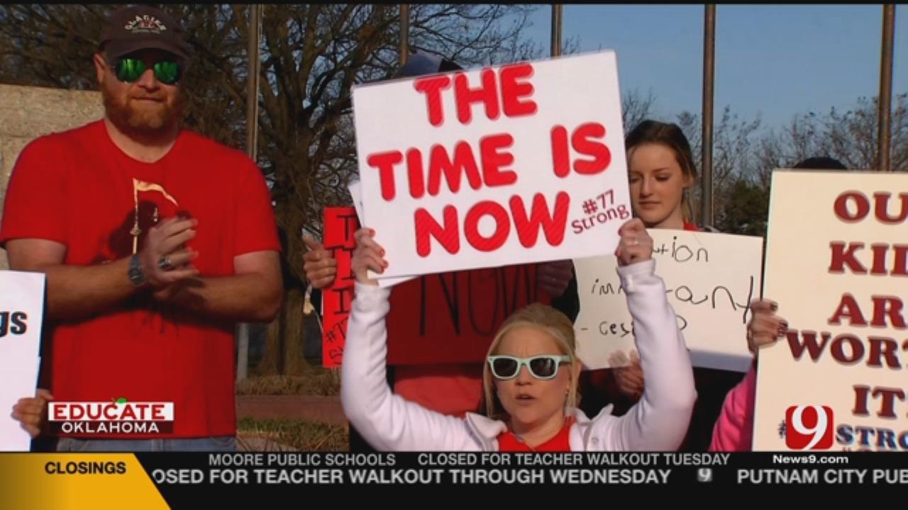 Oklahoma Teachers Demanding Change