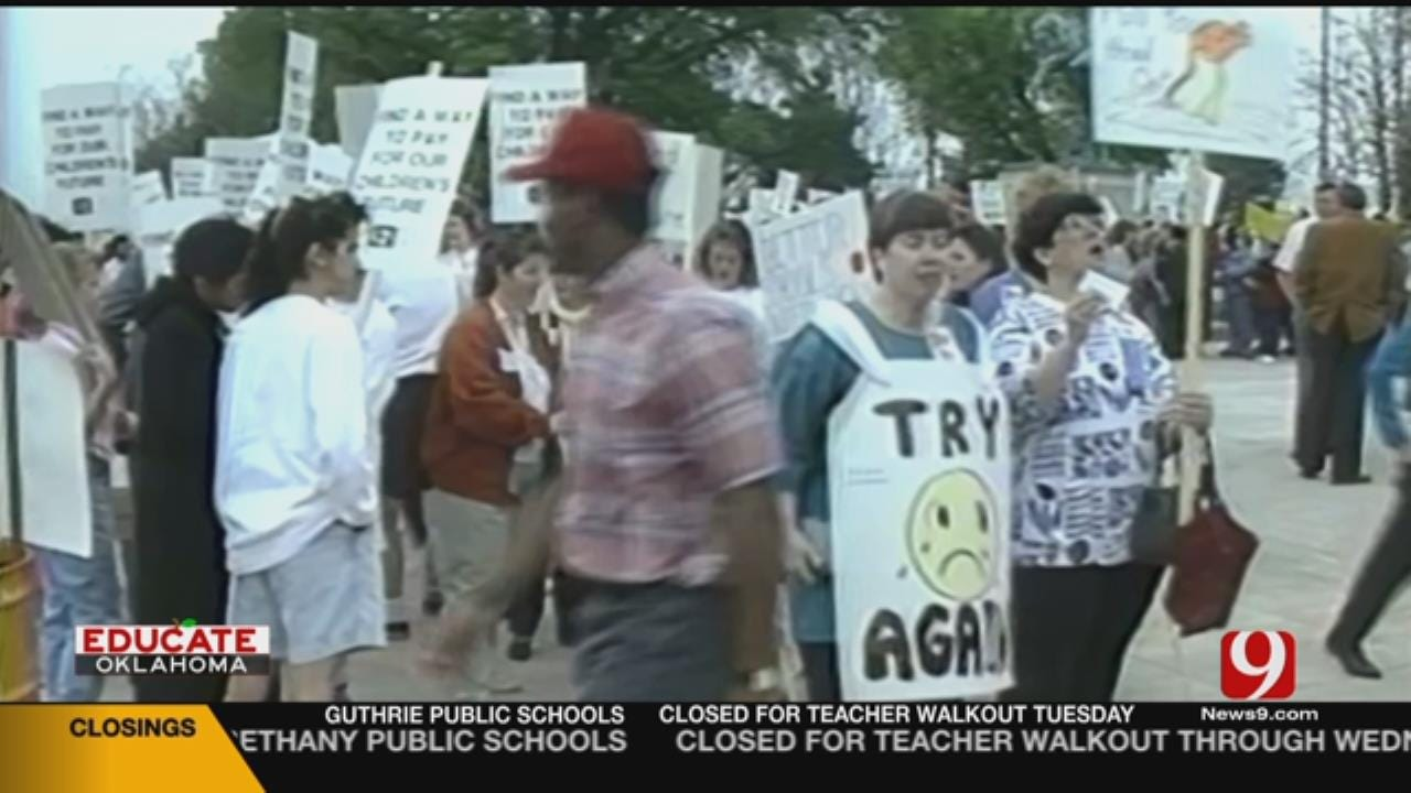A Look Back At The 1990 Teacher Strike In Oklahoma