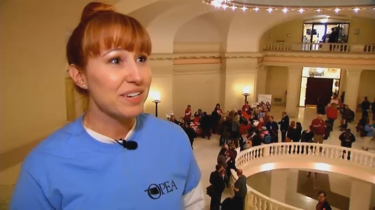 State Workers Hope Their Message Isn't Lost At Capitol