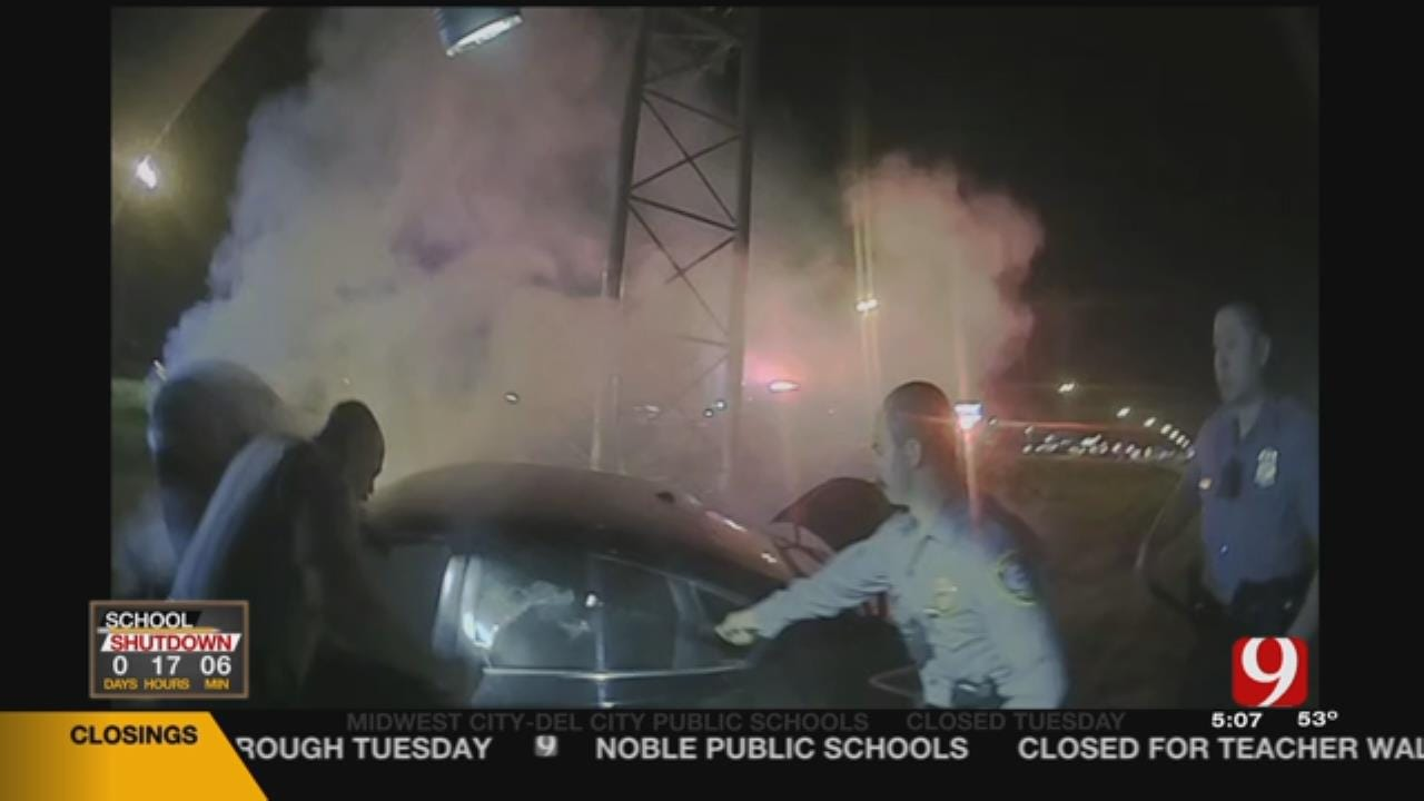 OCPD Releases Video Of Dramatic Car Fire Rescue