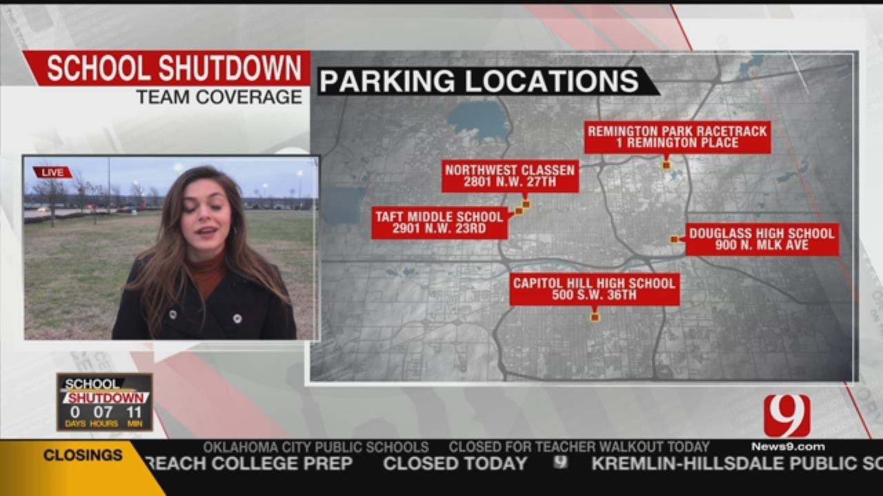 Teachers To Shuttle To State Capitol Due To Limited Parking