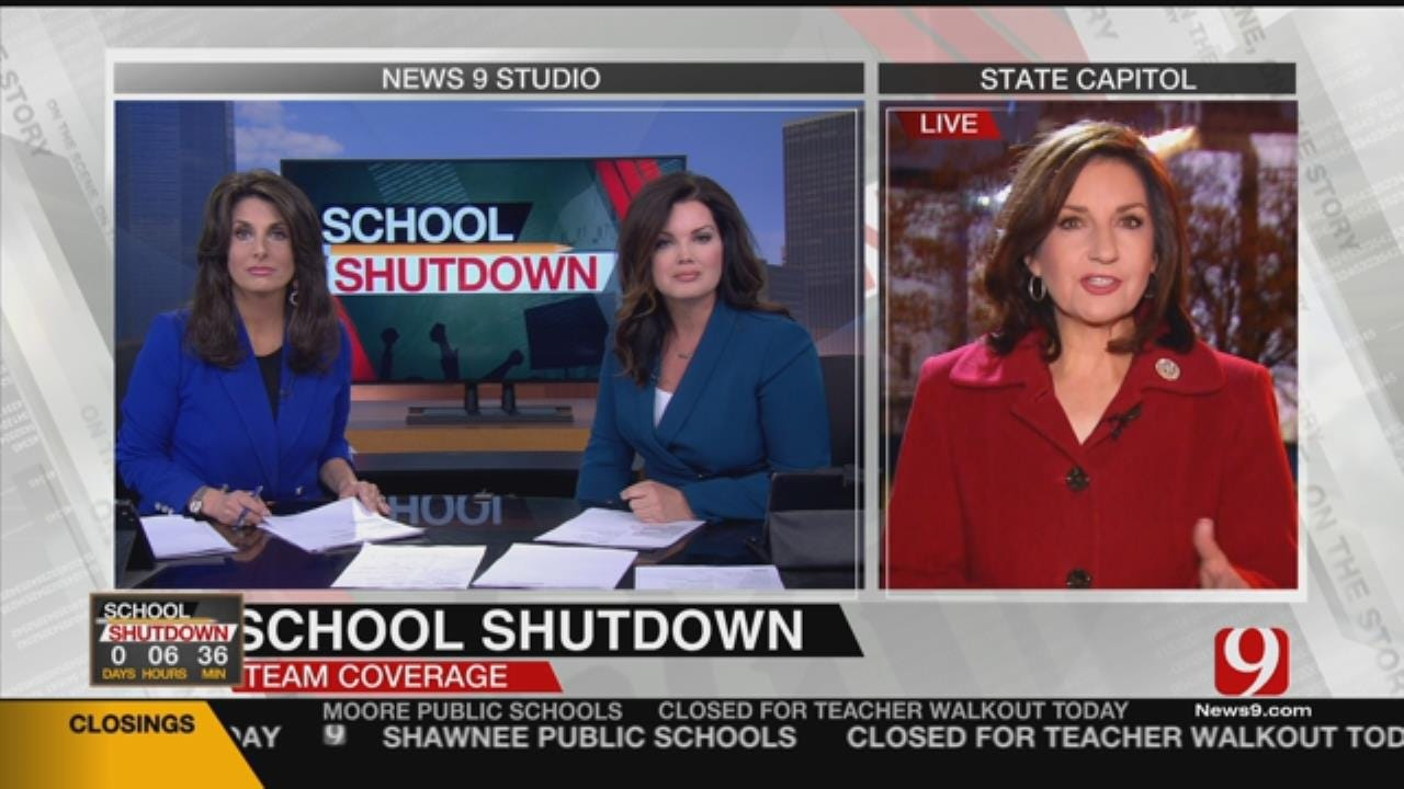 State Superintendent Hofmeister Speaks With News 9