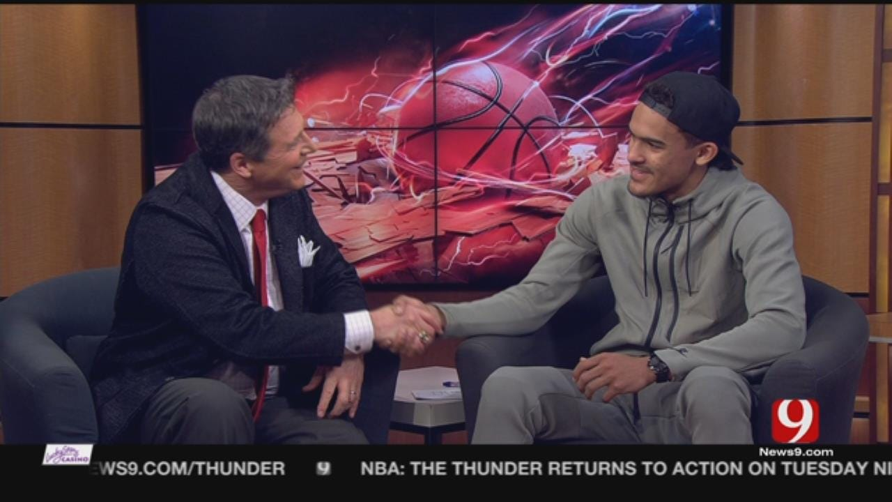 Dean Blevins Goes 1-on-1 With Basketball Phenom Trae Young