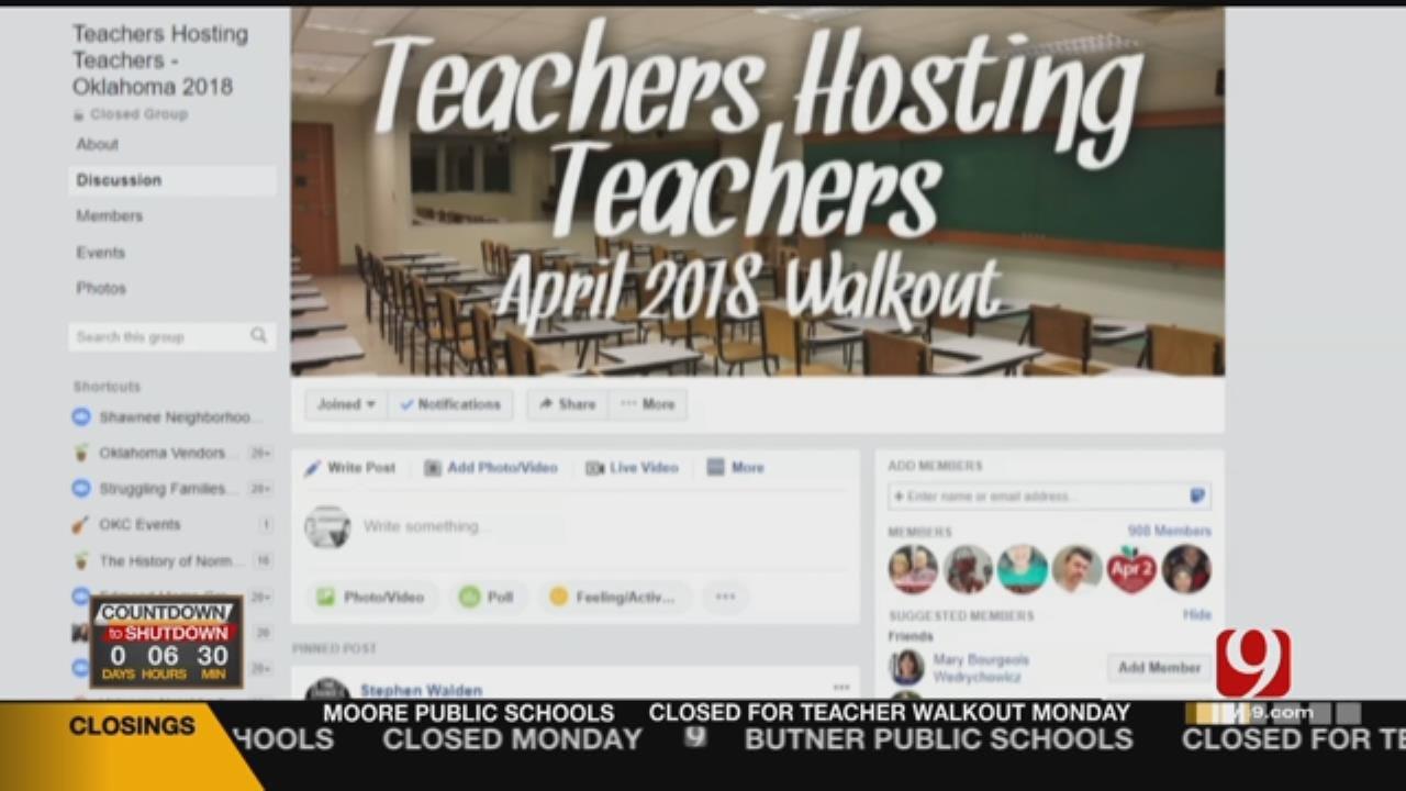 Oklahoma Teachers Provide Lodging For Peers