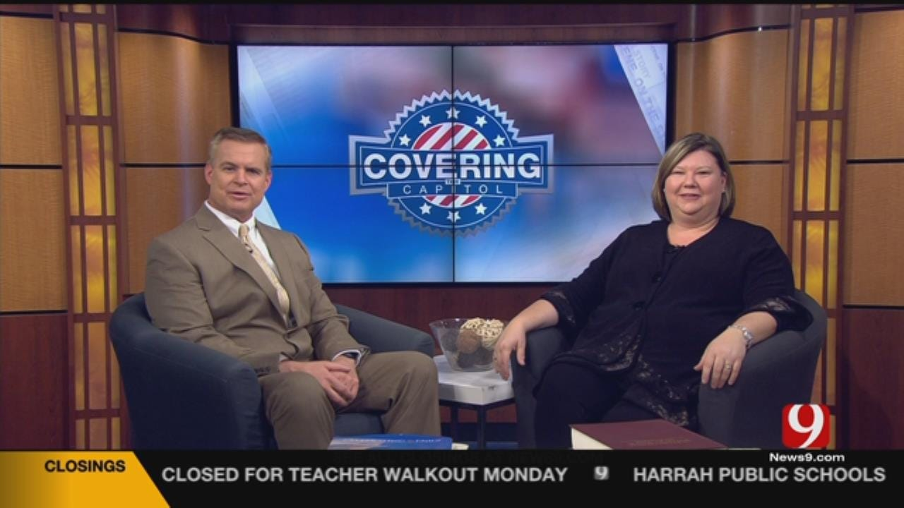 Covering The Capitol: OEA President Discusses Teacher Walkout