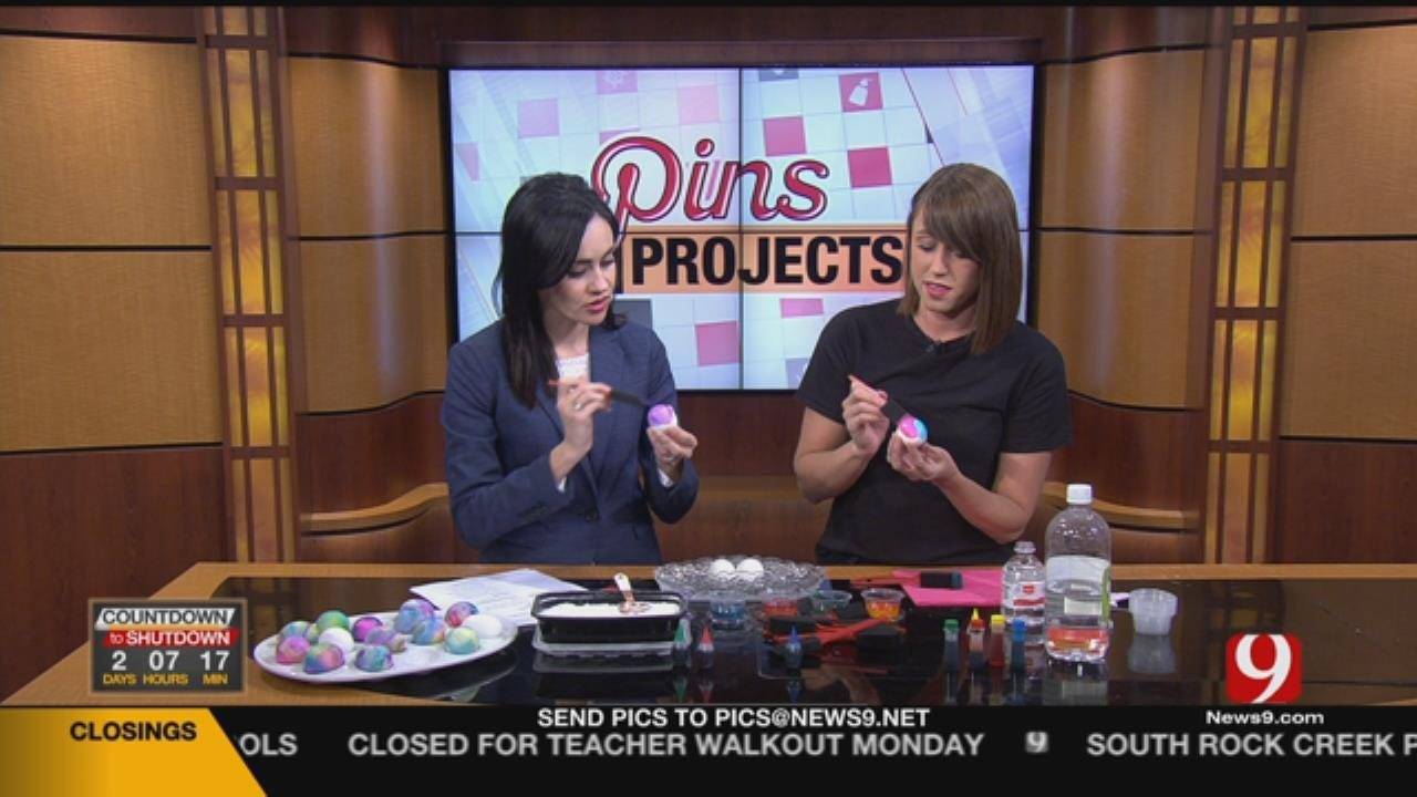Pins & Projects: Volcano Egg Dying