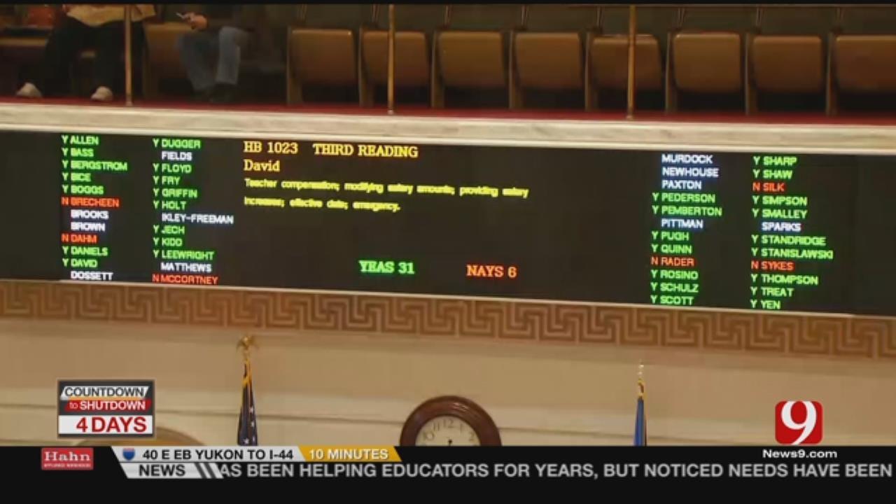 Walkout Plans Continue After Senate Passes Tax Plan