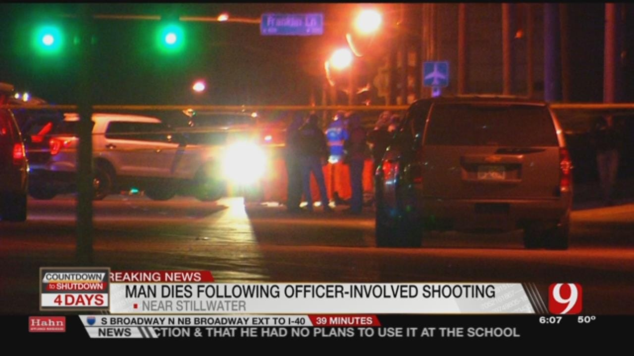 Police Investigating Fatal Officer-Involved Shooting In Stillwater