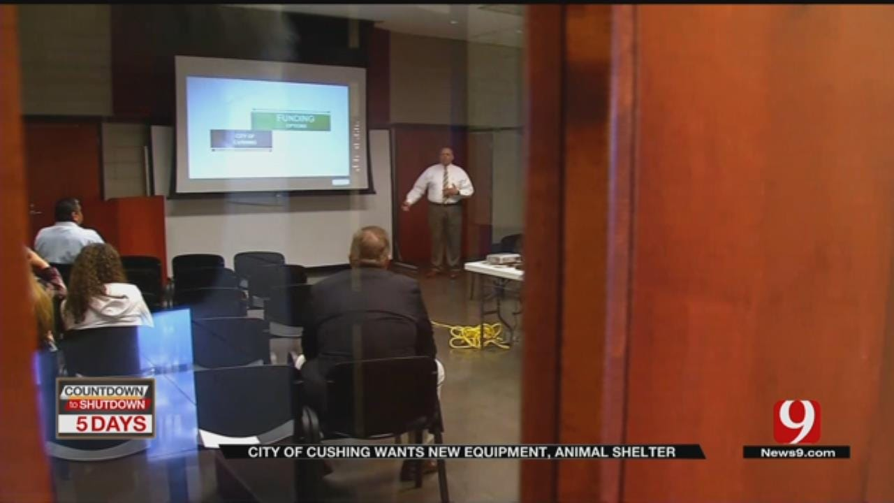 City Of Cushing To Hold Special Election To Fund New Equipment