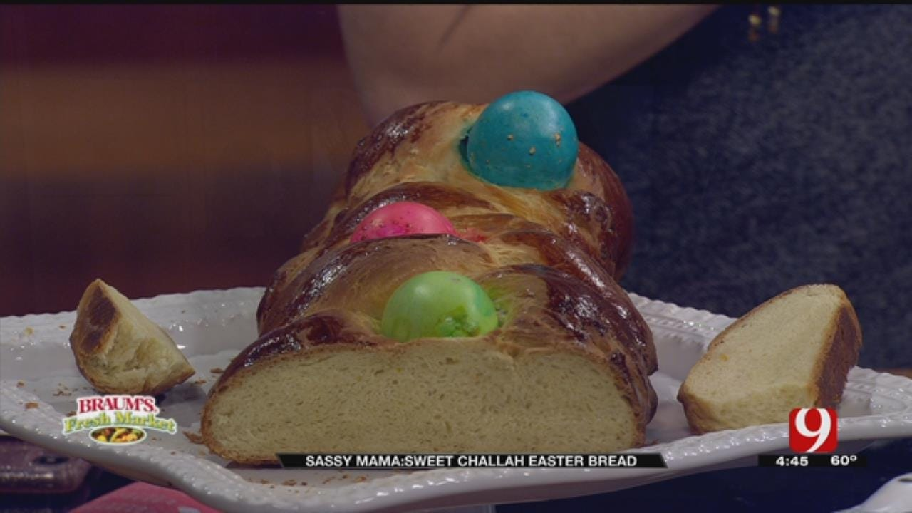Sweet Challah Easter Bread, Part II