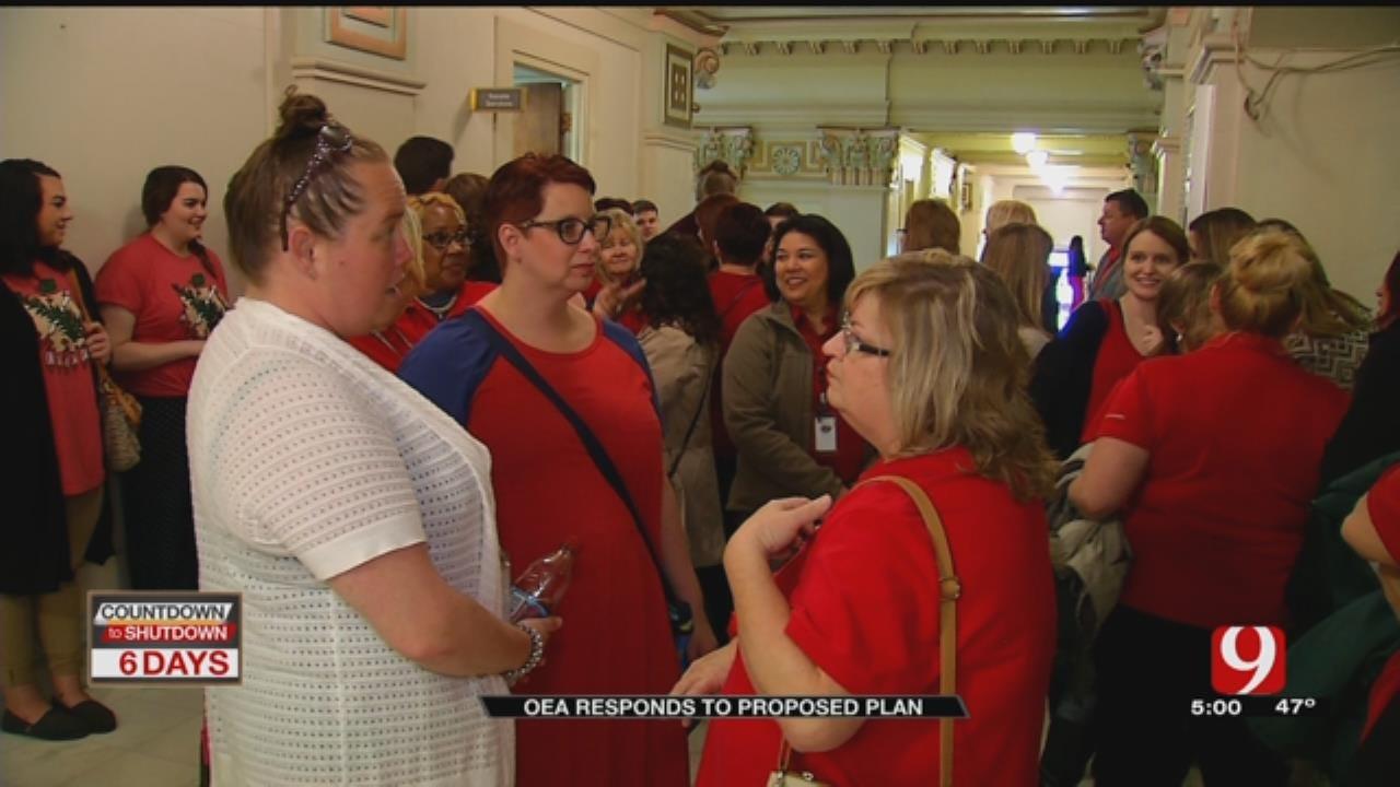OEA Says Teacher Walkout Still On, Despite Passage Of House Bill