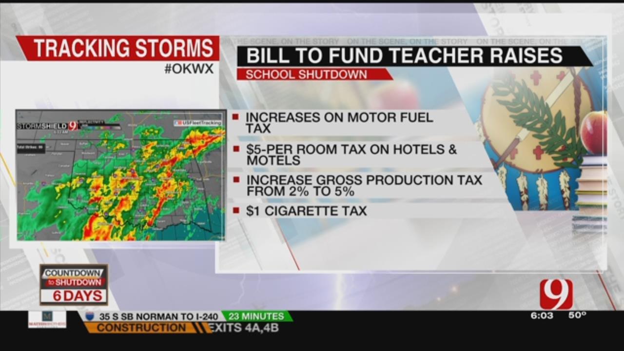 State House Members Pass Bills For Teacher, State Employee Raises