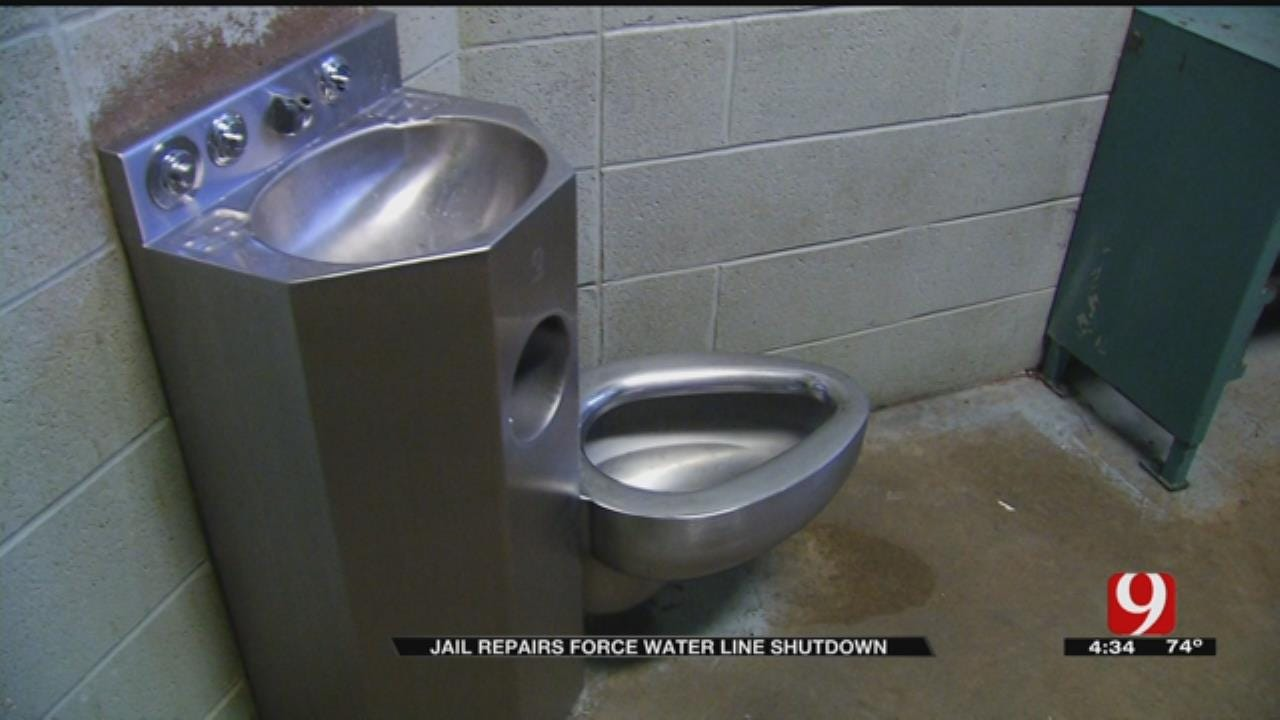 Oklahoma County Jail Water Shut Off For Valve Repairs
