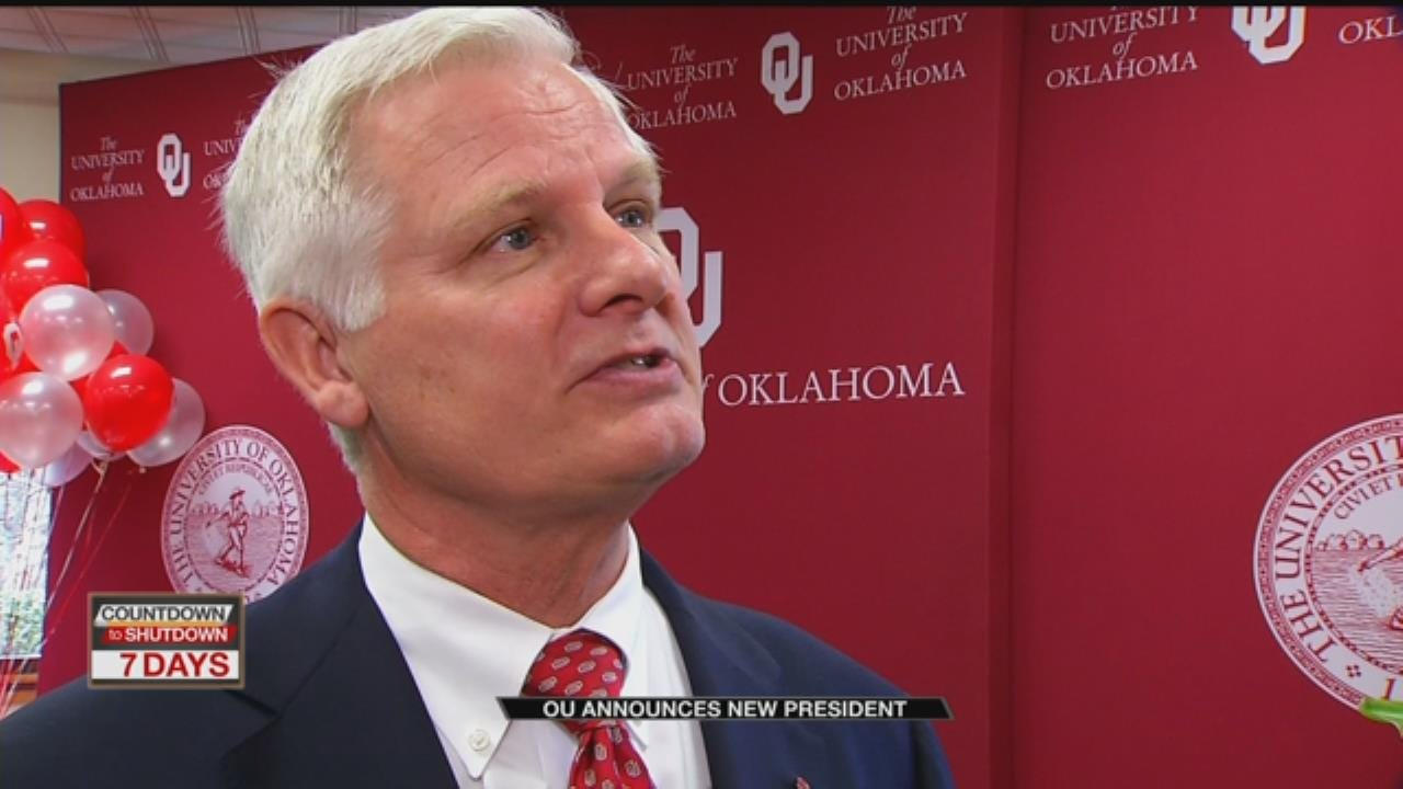 1-On-1 With OU's New President James Gallogly