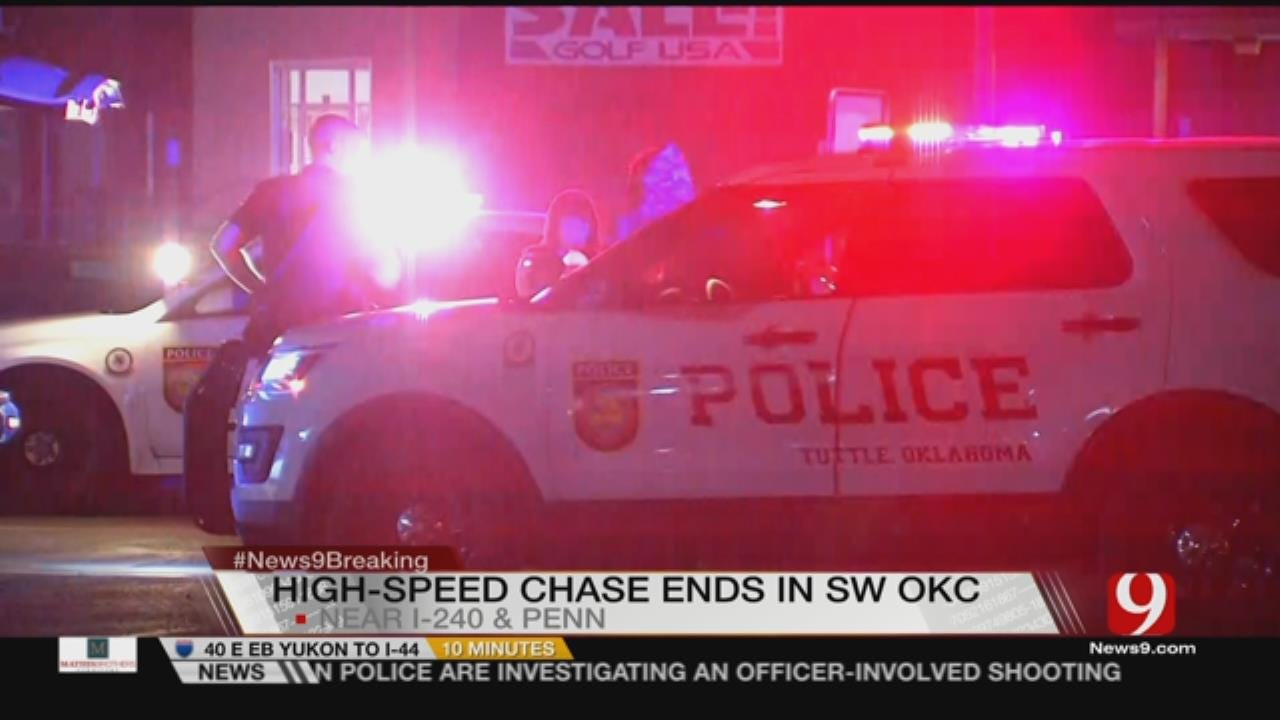 Police Search For Chase Suspects In SW OKC
