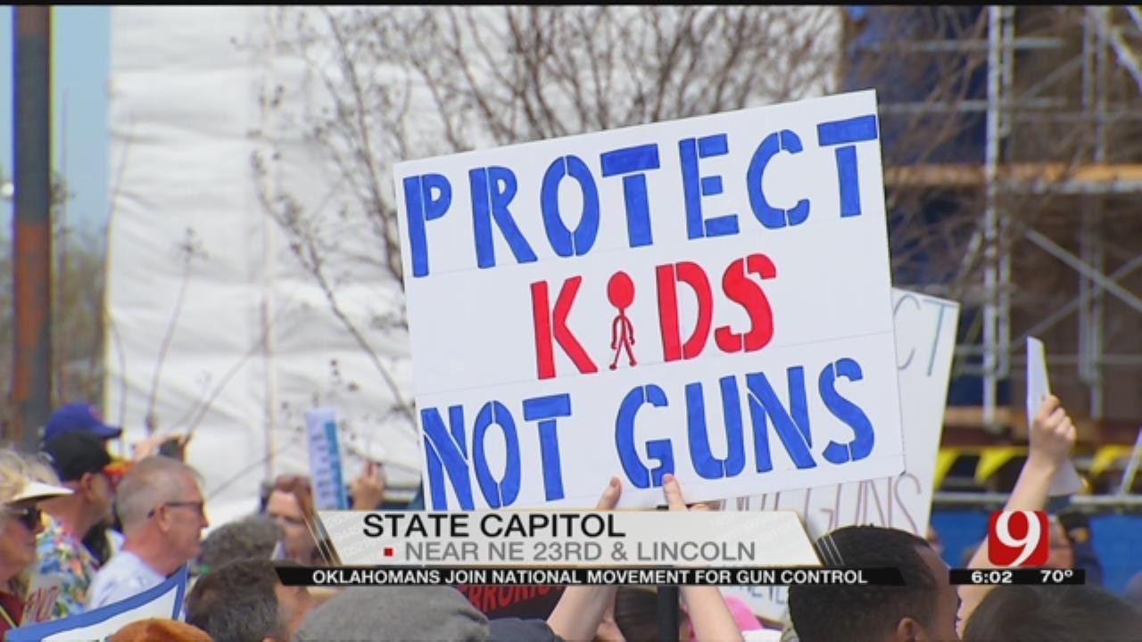 Oklahomans Join National Movement For Gun Control