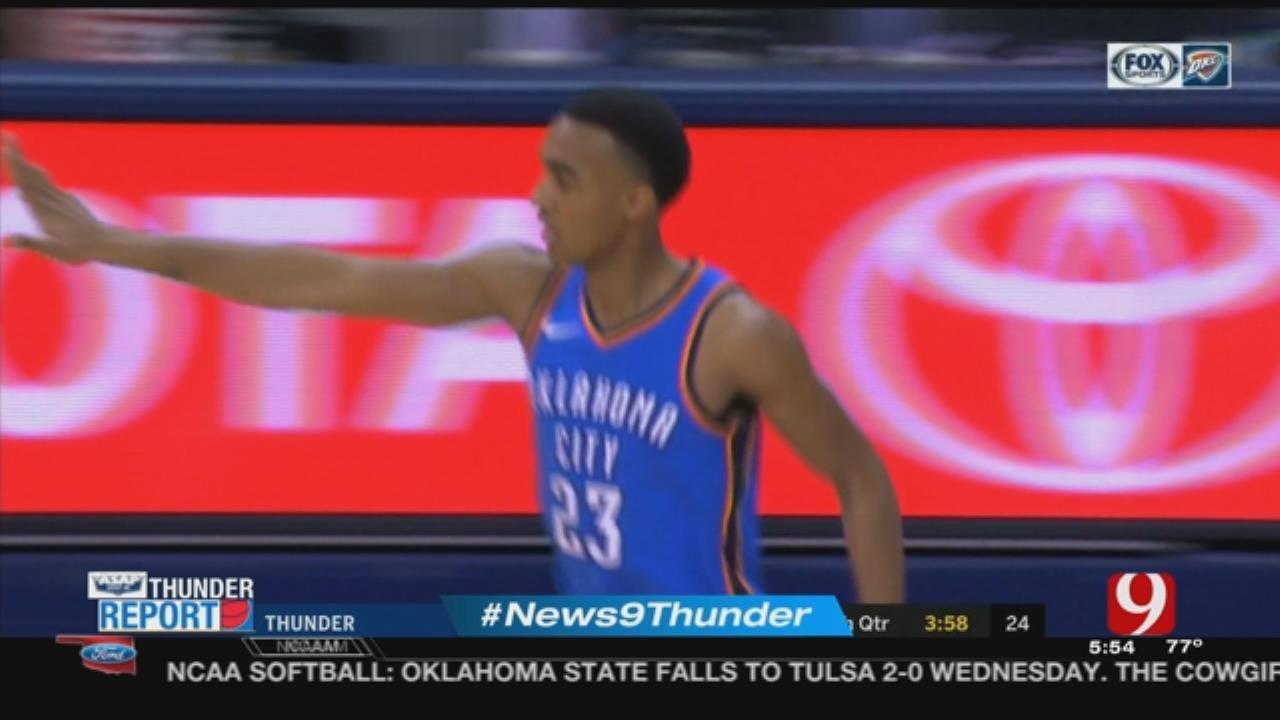 Thunder Rookie Terrance Ferguson Earns Praise From Teammates