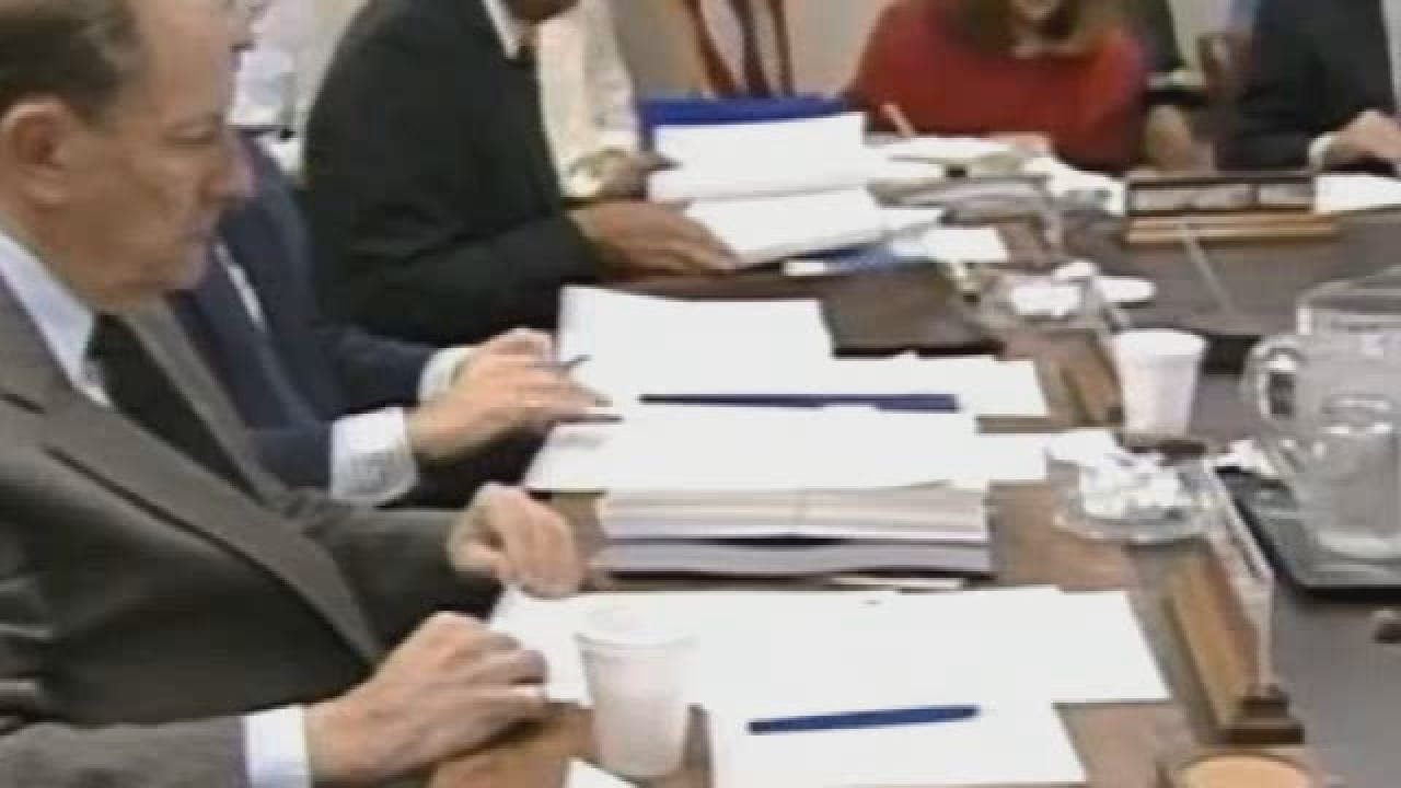 Web Archive State Budget cut DHS - Gov Walters 2-24-1992.wmv