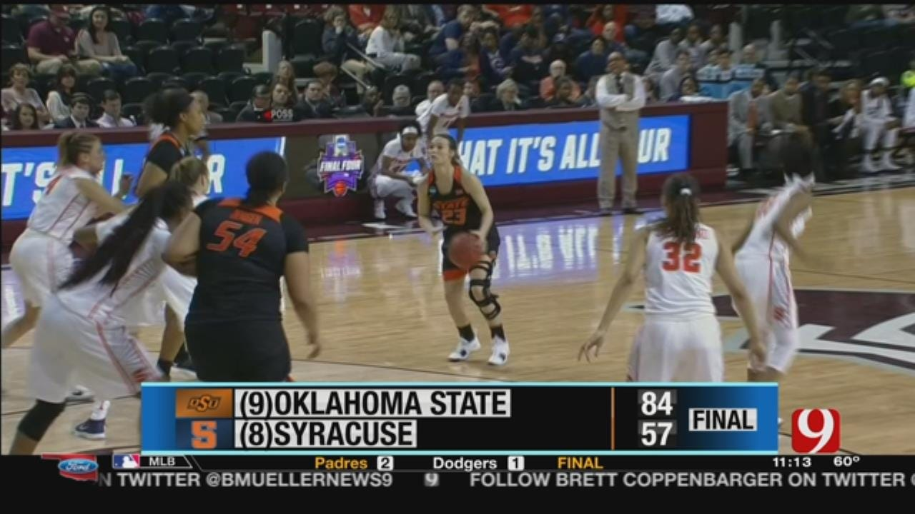 OSU and OU women in the NCAA tournament