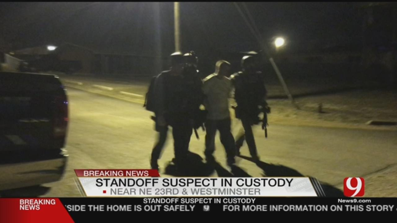 Man Detained After Overnight Standoff Near Nicoma Park