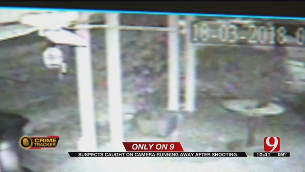 Suspect In NW OKC Shooting Caught On Camera
