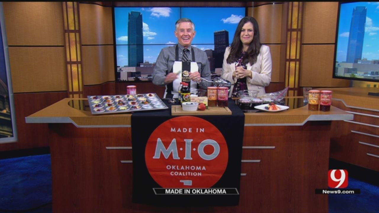 Made In Oklahoma: Mini Jam Cheesecakes