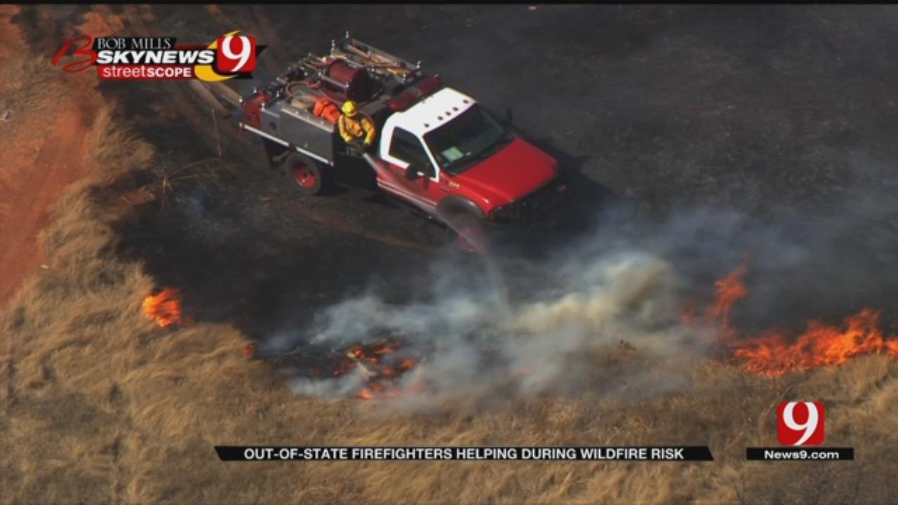Oklahoma Needs Extra Manpower For Wildfires