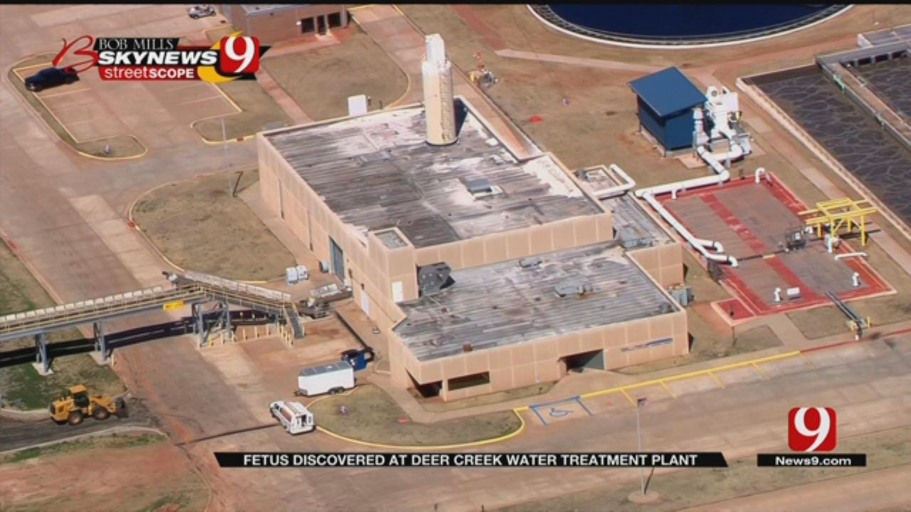 Fetus Found By Deer Creek Waste Water Treatment Facility Workers
