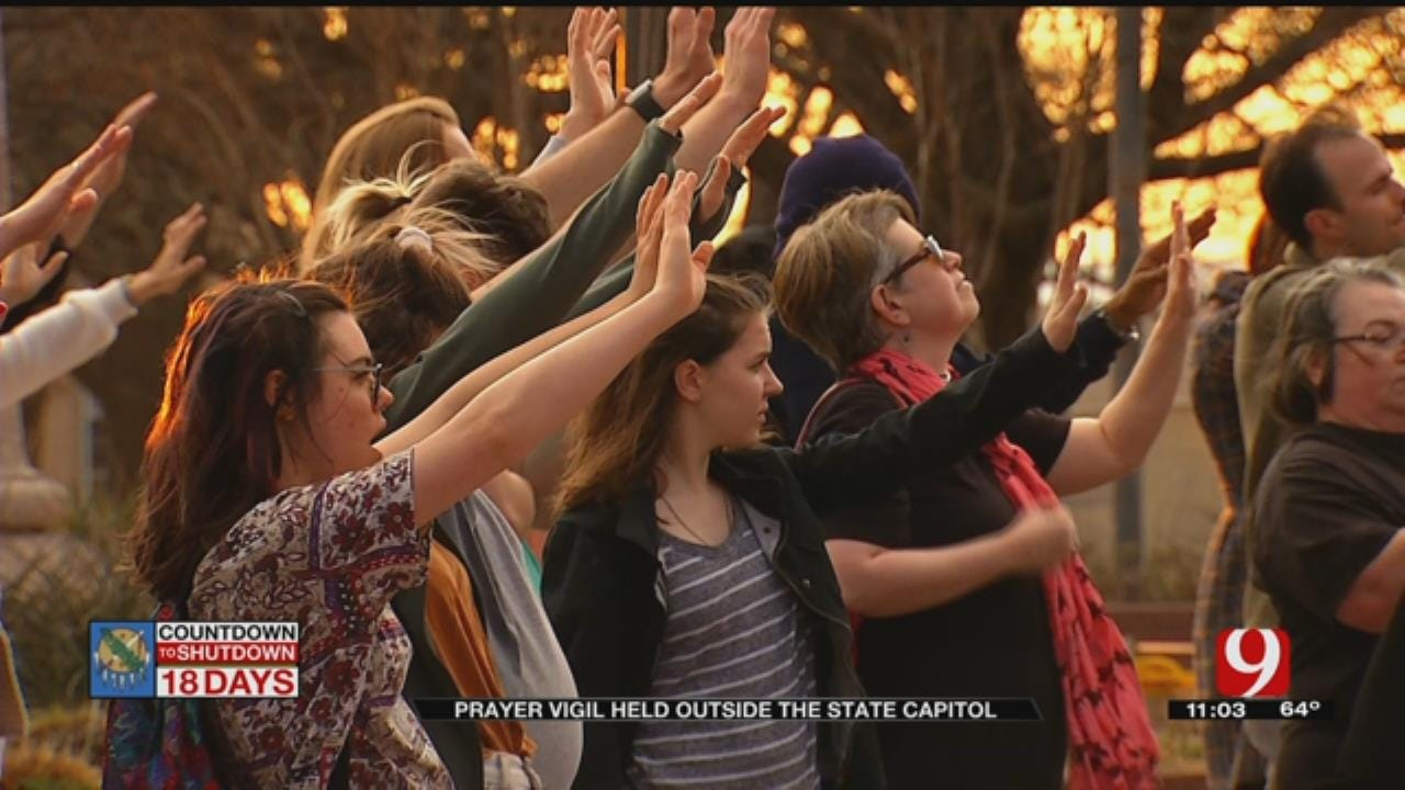 Pastors Hold Prayer For Teachers, Students Outside State Capitol