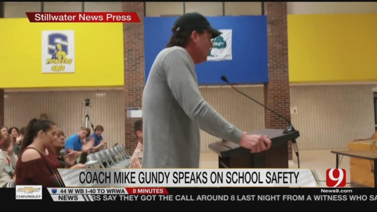 Gundy Questions School Safety At Stillwater School Board Meeting