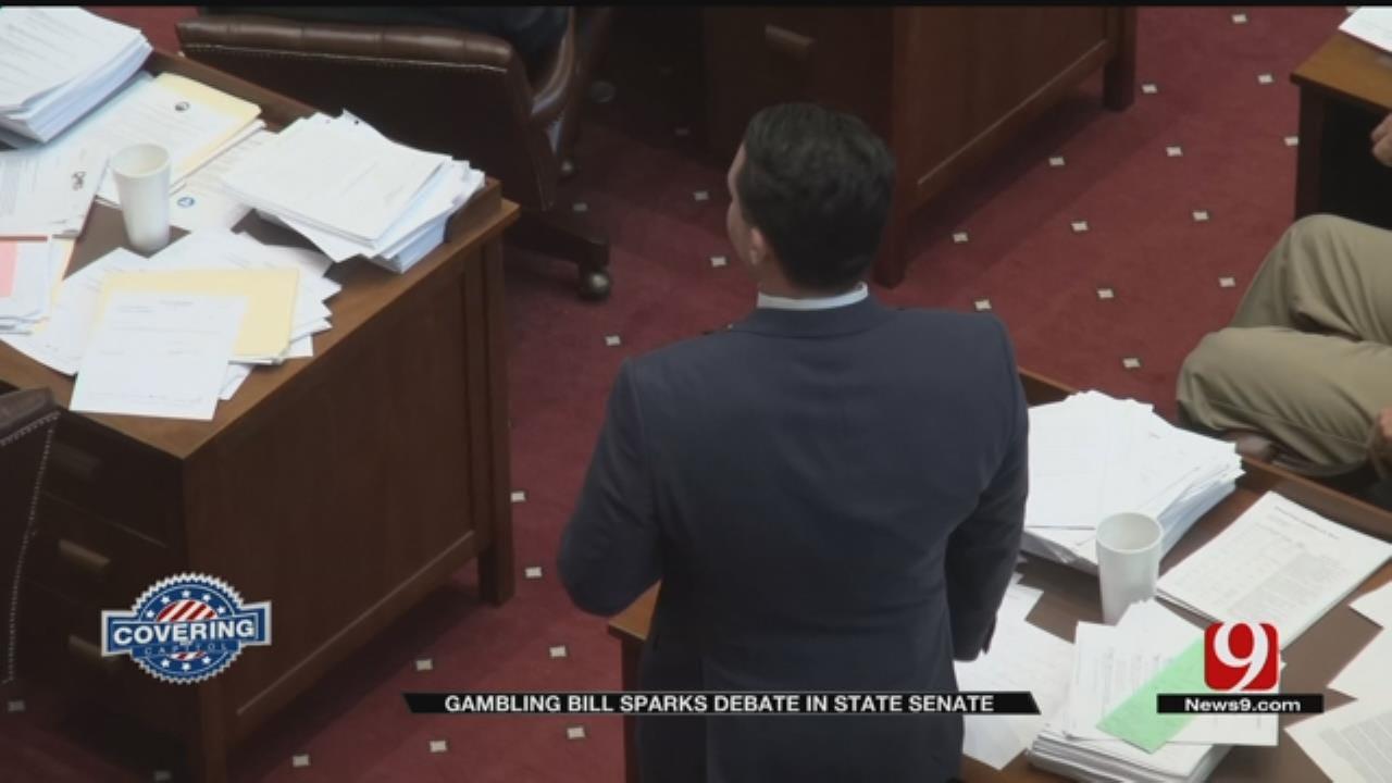 Gambling Bill Sparks Debate In State Senate