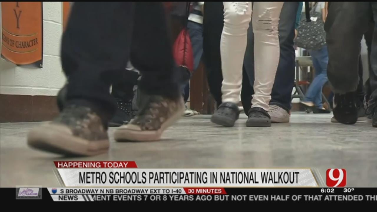 Metro Students To Walkout To Raise Gun Violence Awareness