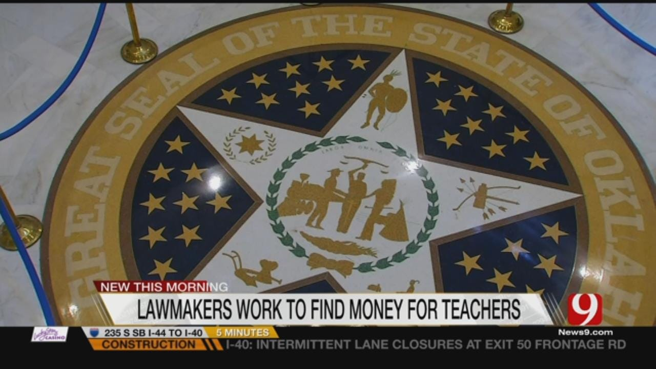 Lawmakers Try To Hash Out Deal Before Potential Teachers' Strike