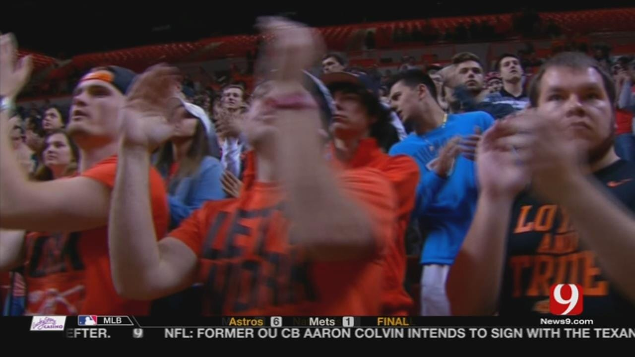 Oklahoma State Tops FGCU 80-68 In NIT Opening Round