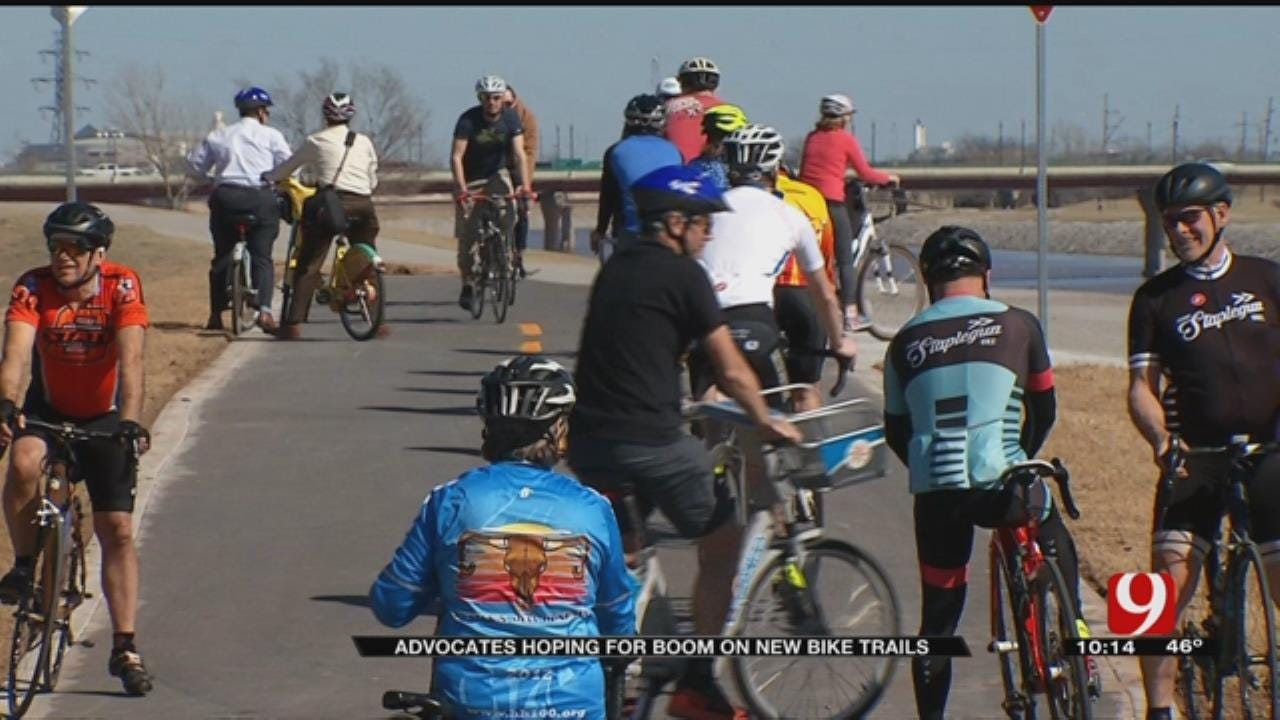 Advocates Hoping For Boom On New OKC Bike Trails