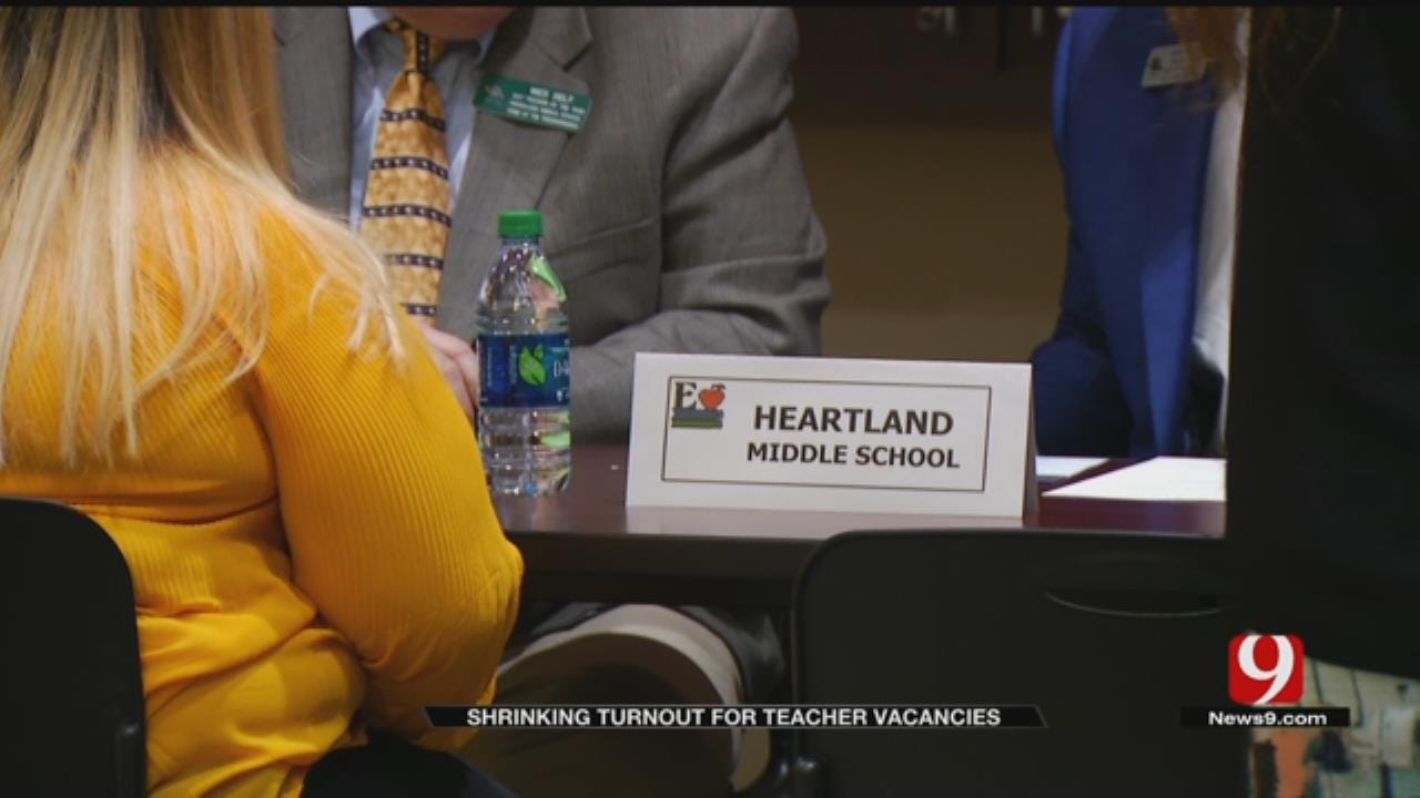 Metro Job Fair Sees Fewer Teacher Applicants