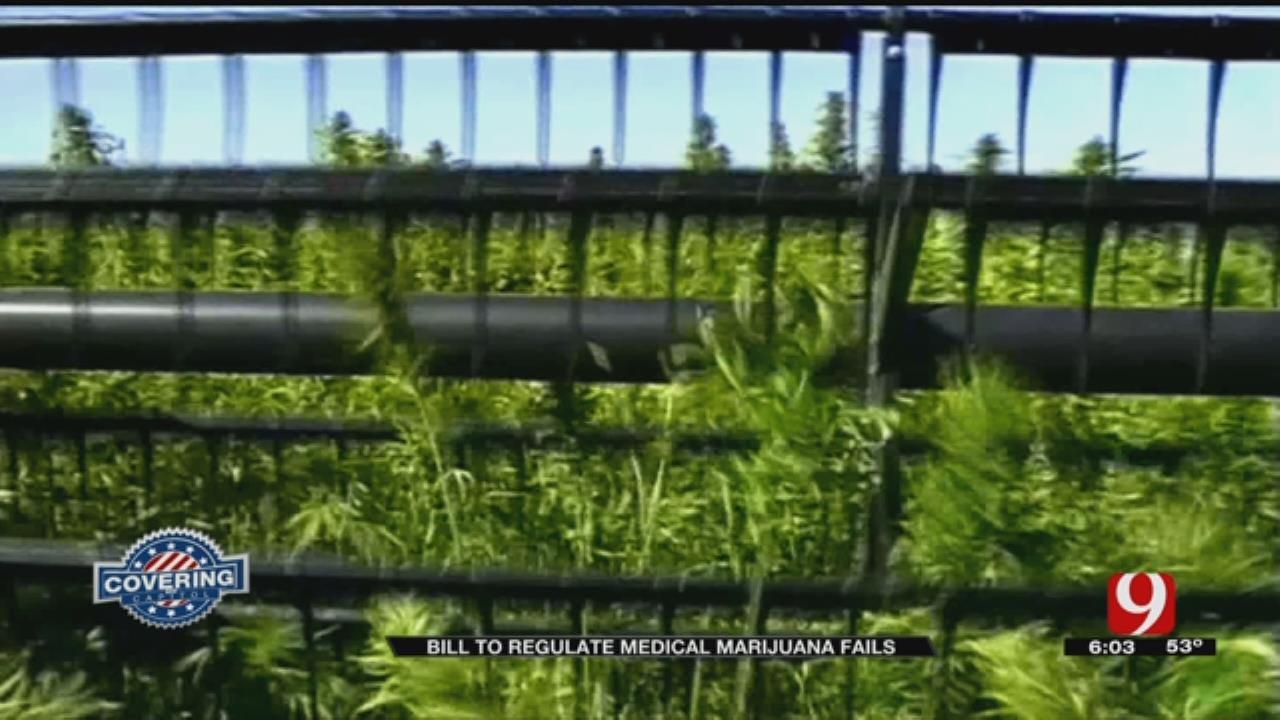 Medical Marijuana Regulation Bill Fails