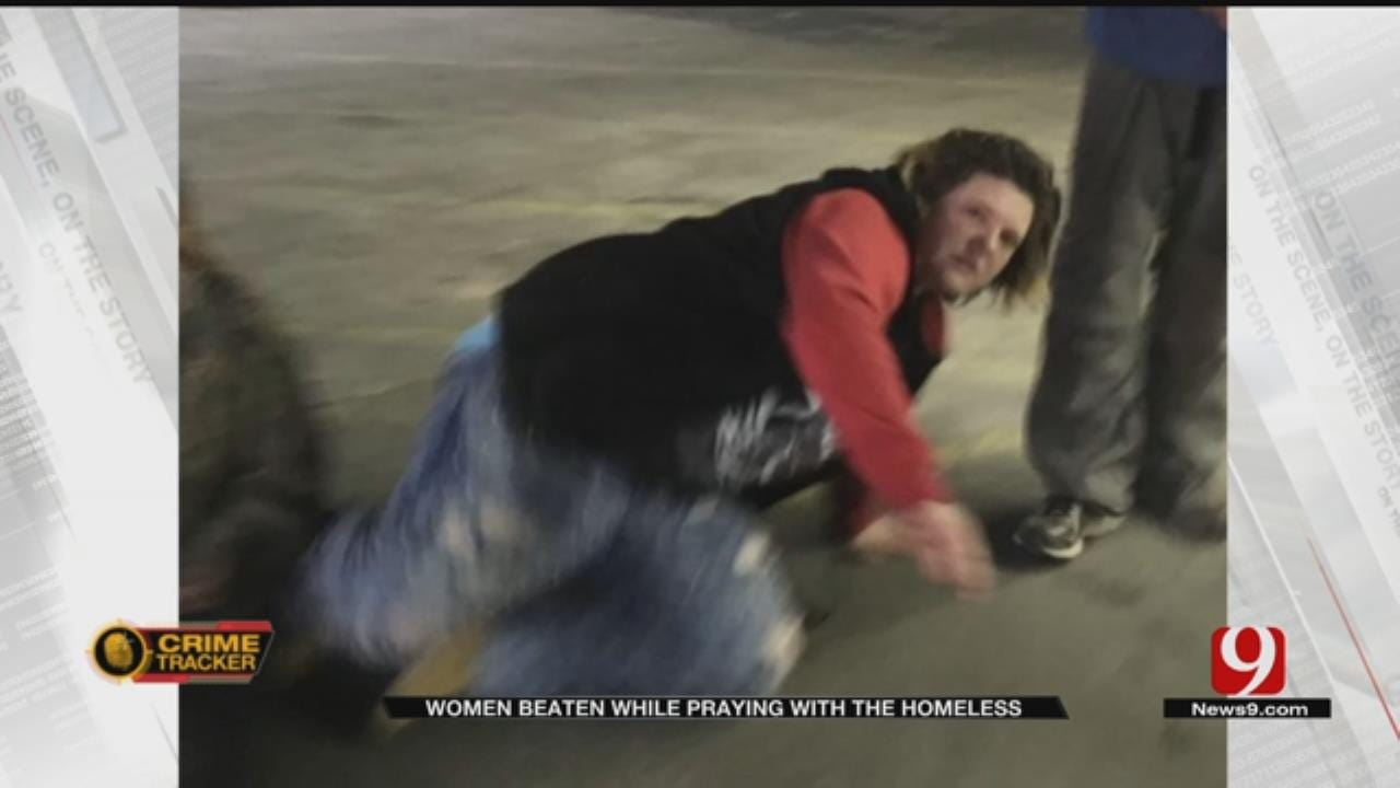 OKC Woman Assaulted At Gas Station While Praying With The Homeless