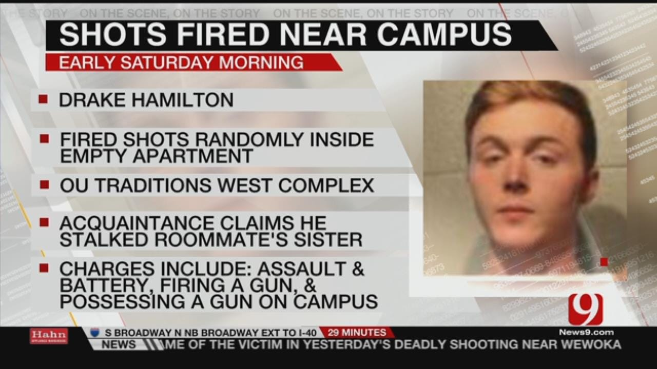 Student Arrested, Accused Of Firing Weapon In Campus Apartment
