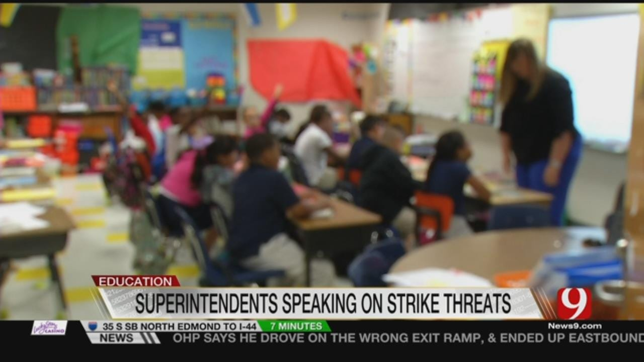Districts To Discuss Possibility Of Teacher Walkouts