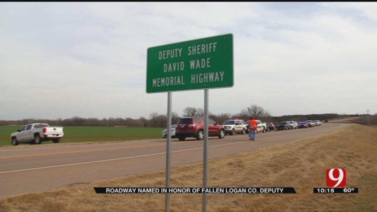Roadway Named In Honor Of Fallen Logan County Deputy