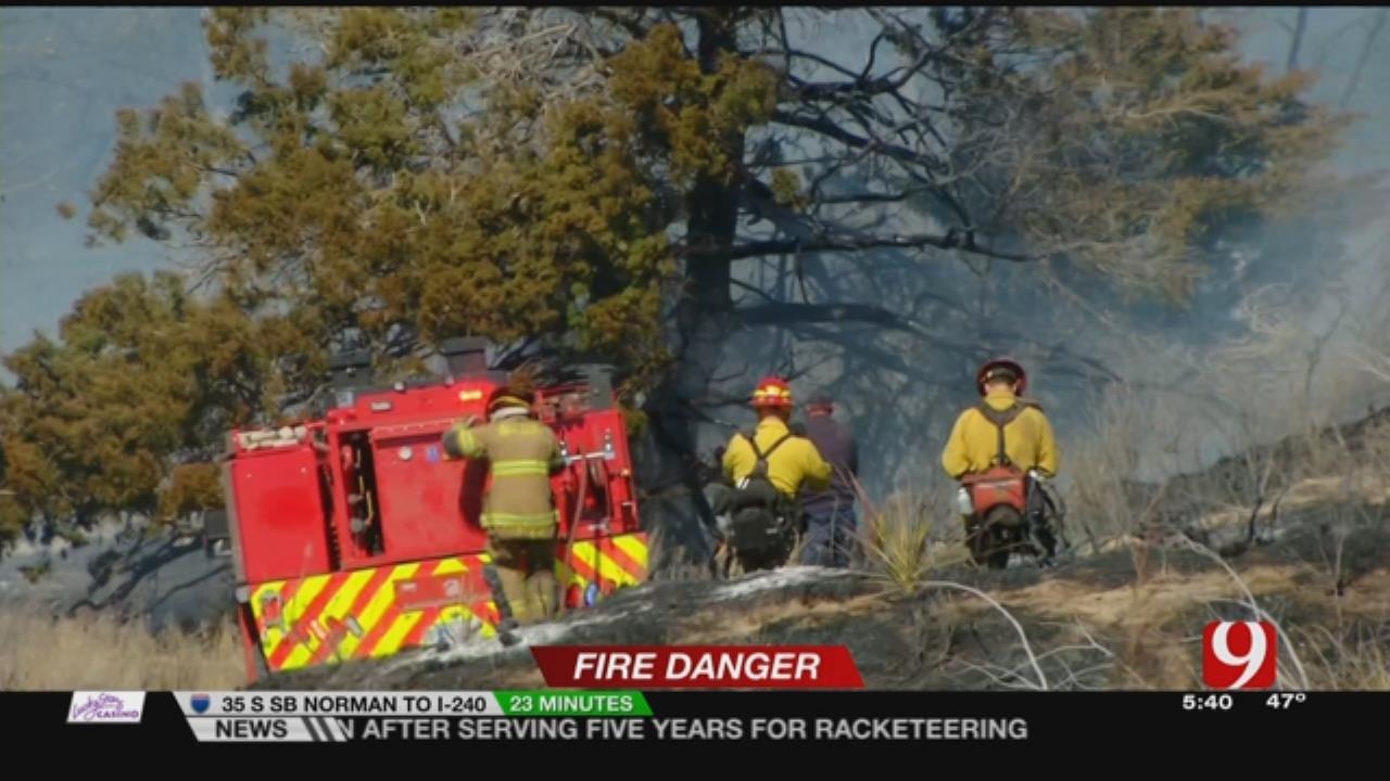 Firefighters On High Alert During Fire Danger Days