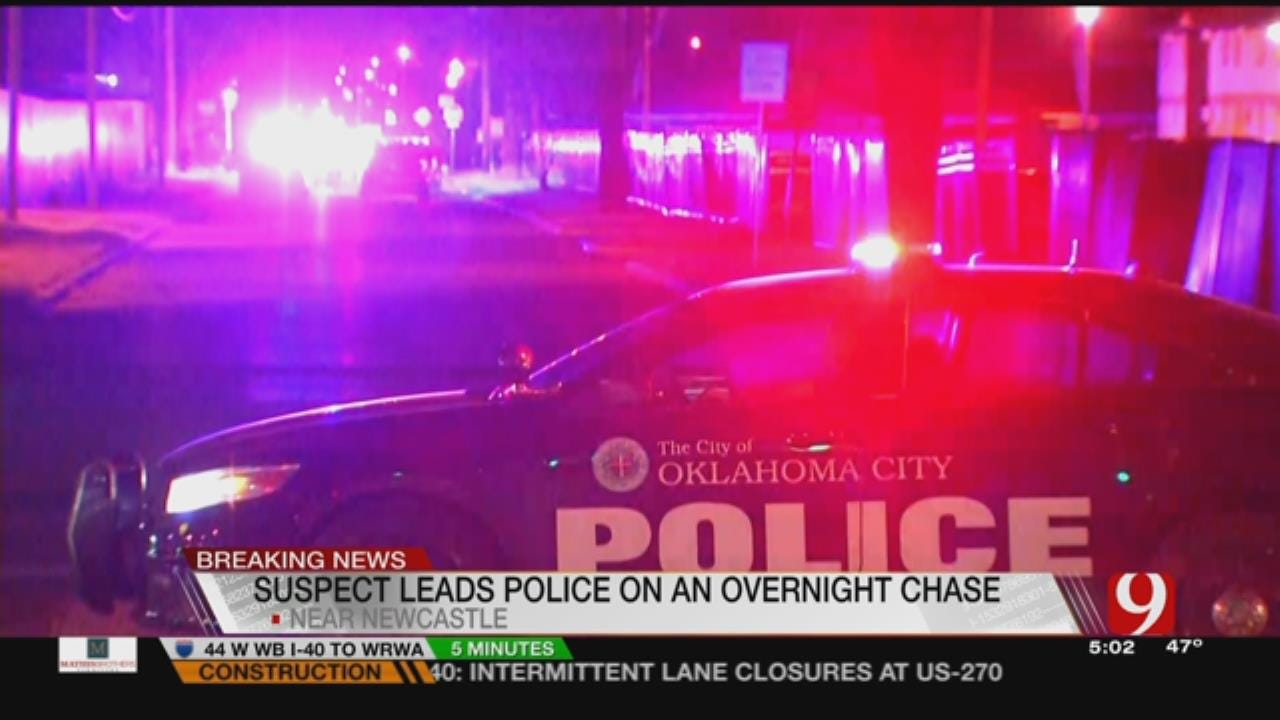 Man Arrested After Metro Police Chase