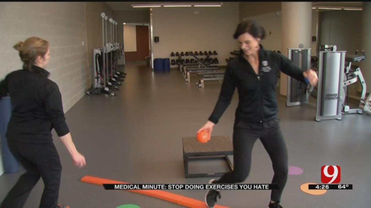 Medical Minute: Exercise The Way You Like